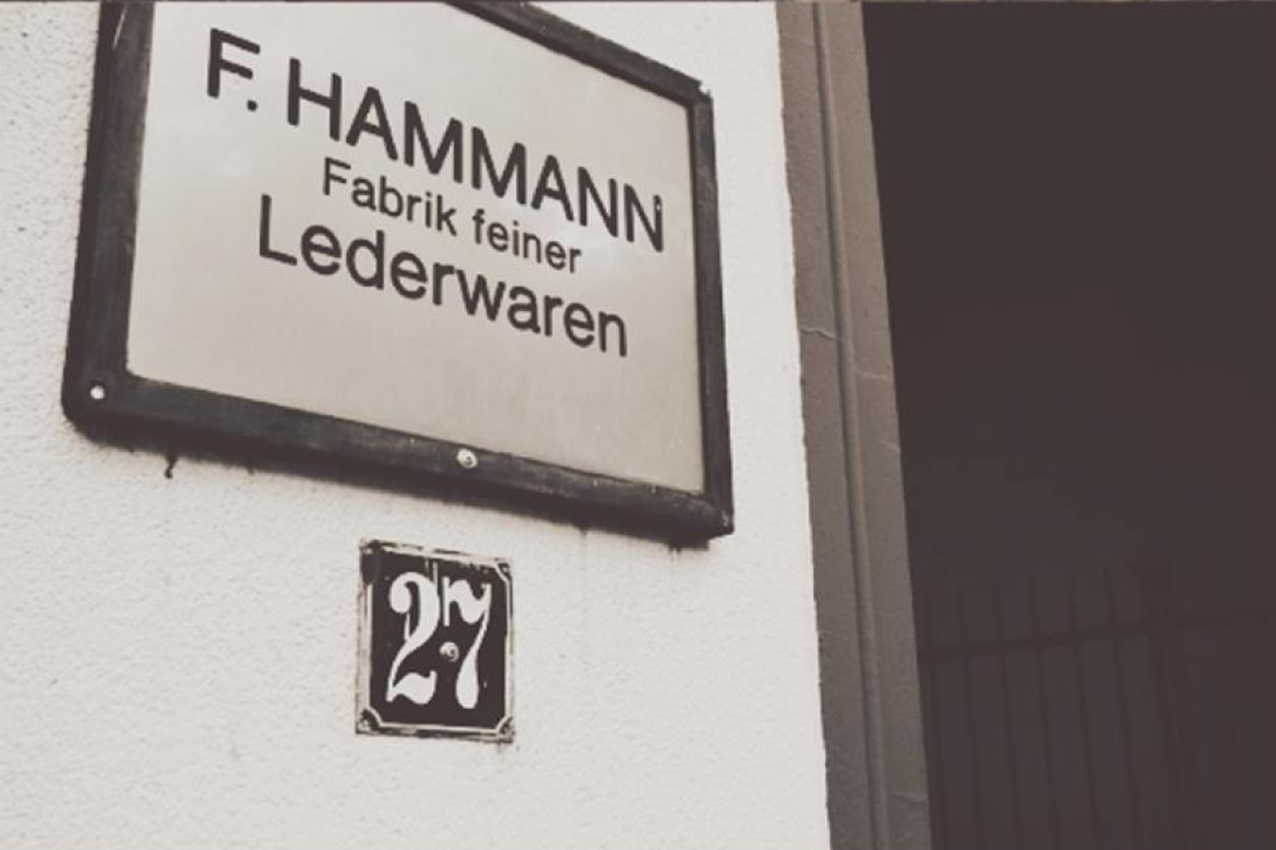 ABOUT F.HAMMANN